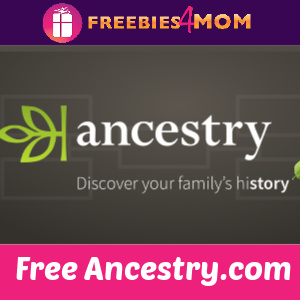 🍎Free Ancestry Account