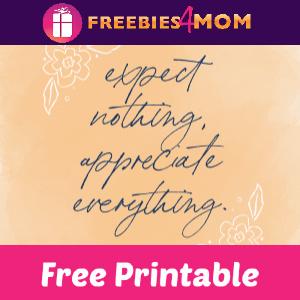 🌻Free Printable Positivity Mantras