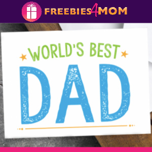 👔Free Best Dad Father's Day Cards