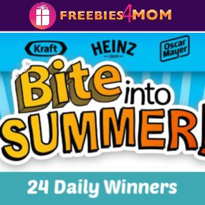 🌭Sweeps Kraft Heinz Bite Into Summer