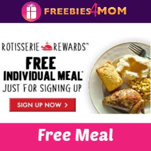 🍗Free Individual Meal at Boston Market