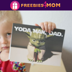 "✨Free ""Yoda Man, Dad"" Father's Day Card"