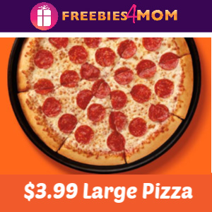 🍕$3.99 Large Pepperoni or Cheese at Little Caesars