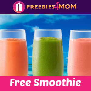 🥤Free Smoothie from Tropical Smoothie Cafe