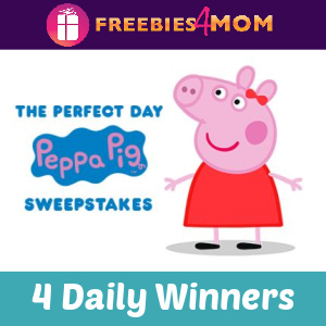 🐷Sweeps Win a Peppa Pig Prize Pack