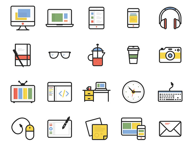 Dashel - 45 free icons