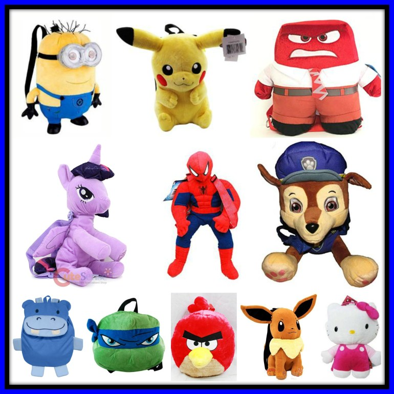 Plush Backpacks