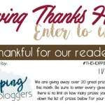 Giving Thanks Blog Hop