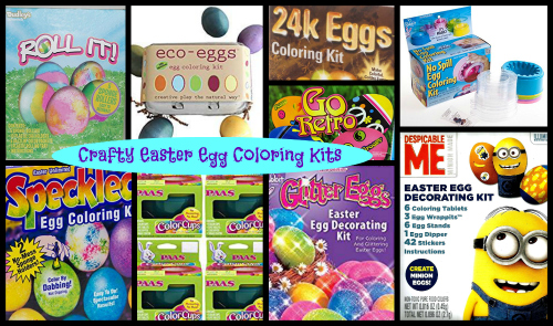 Crafty Easter Egg Coloring Kits!