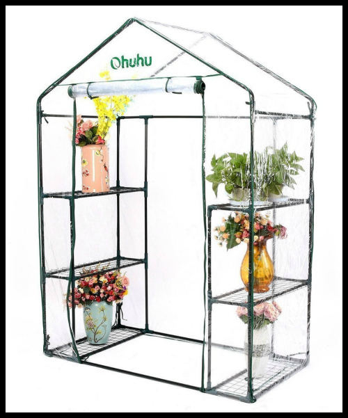 Ohuhu Walk-in Greenhouse
