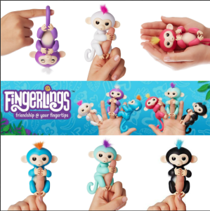 Fingerlings Animatronic Monkeys