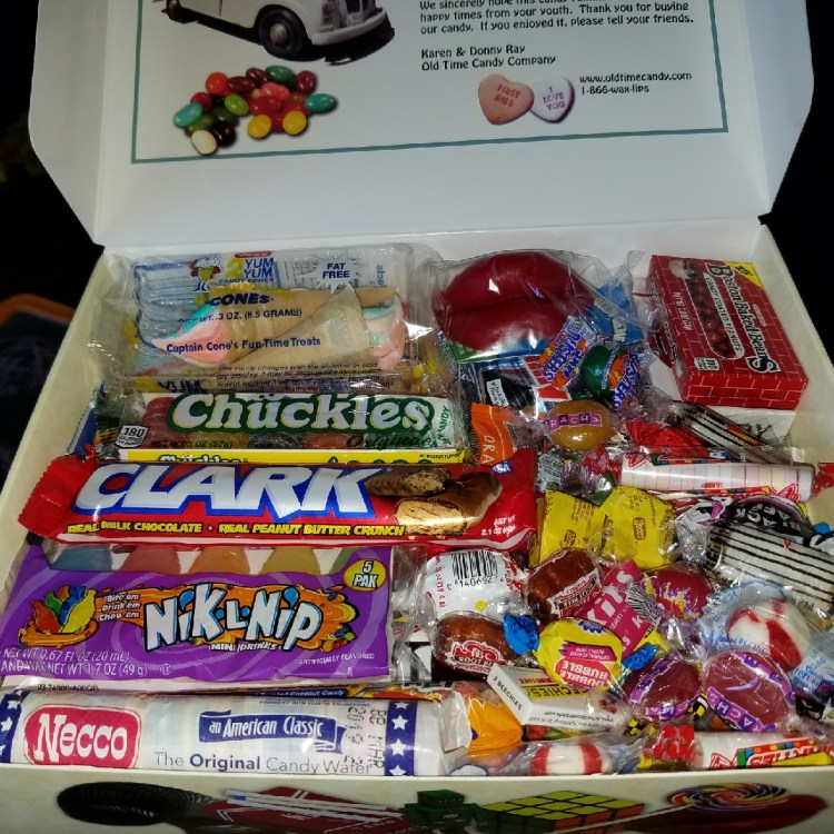 Old Time Candy All Decades Box