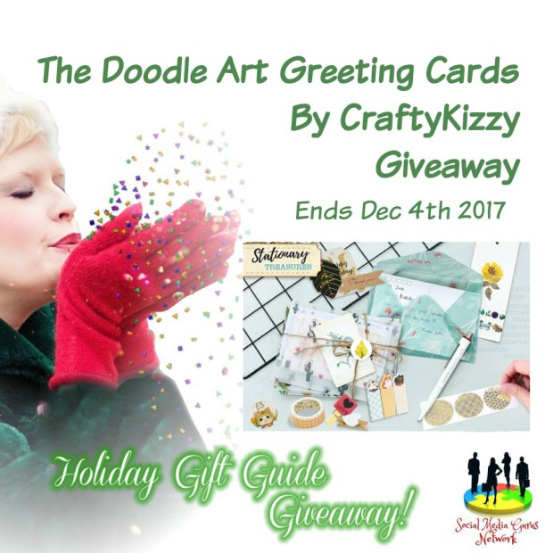 Doodle Art Greetings Cards