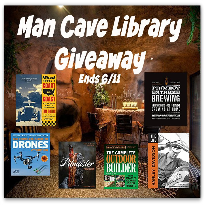 Man Cave Library