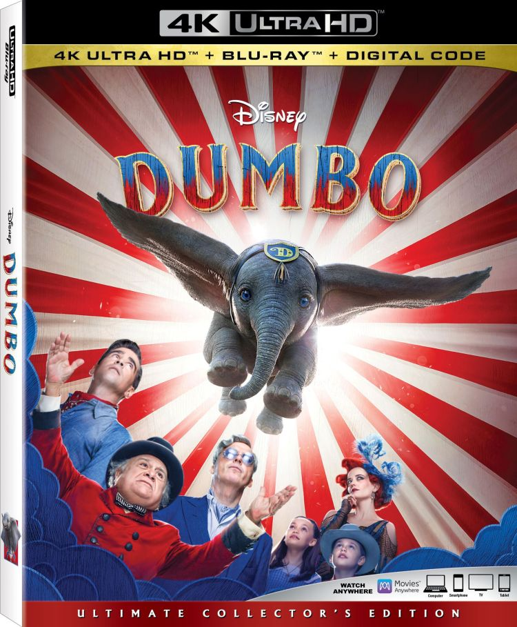 Dumbo 2019 Movie Giveaway