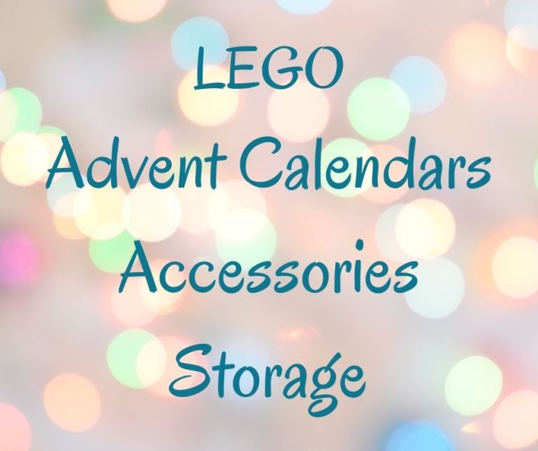 LEGO Advent Calendars & Storage!