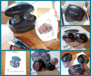 Wireless Bluetooth Earbuds w/ Mic