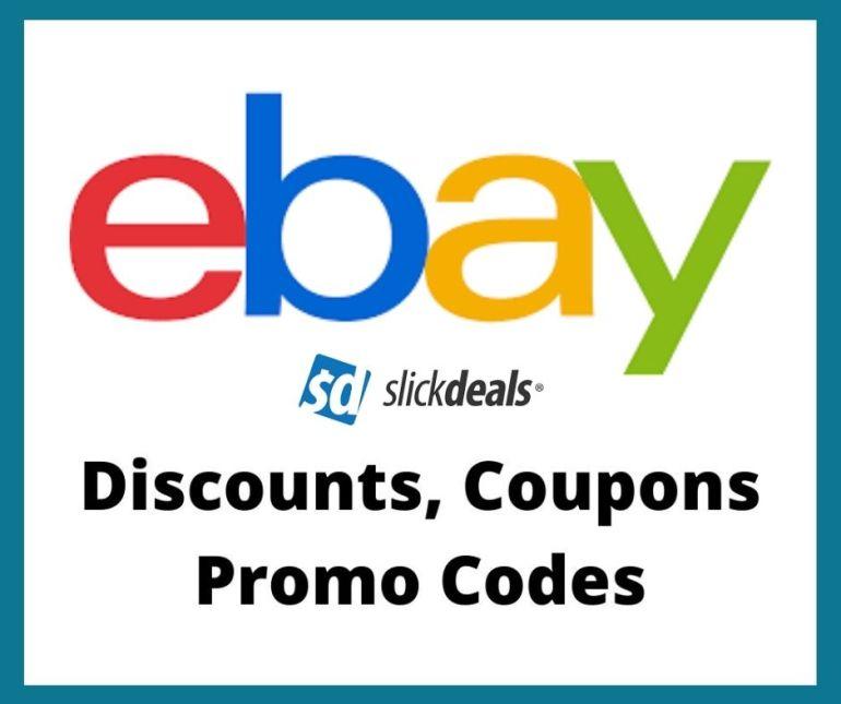 ebay coupons at slickdeals