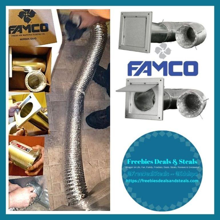 vent for dryer famco kit