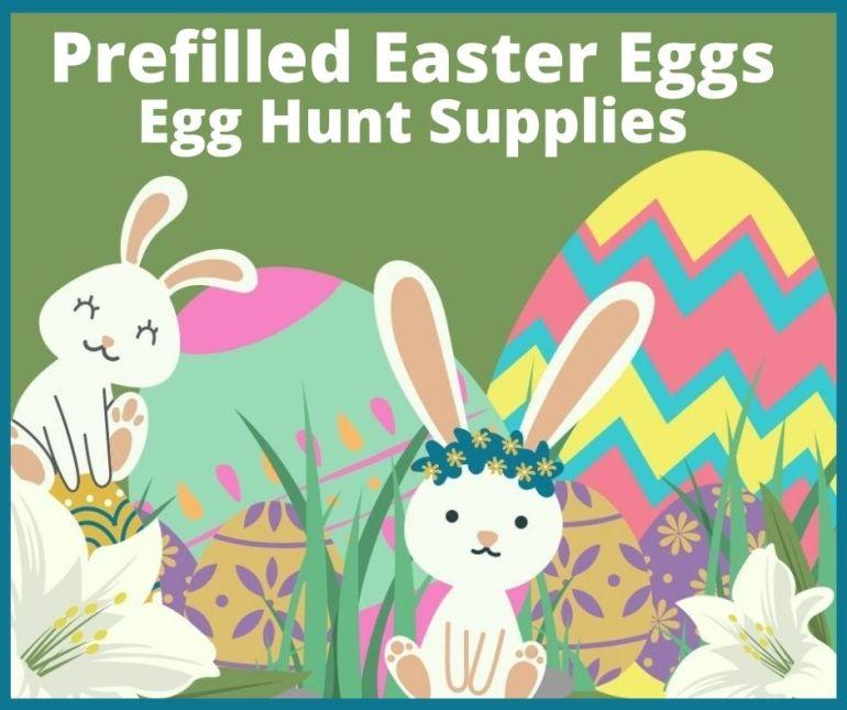 Prefilled Easter Eggs
