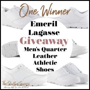 Emeril Lagasse Men's Quarter Leather Athletic Shoes