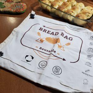 Reusable Bread Bags - #FoodGrade #Bread #Storage