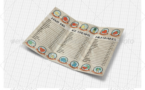Illustrated-Trifold-Menu-Set