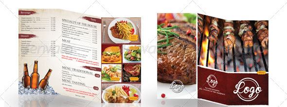Simple-Grill-Trifold-Menu-Design