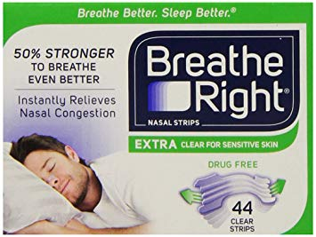 Free Breathe Right Extra Clear Nasal Strips (US Only)