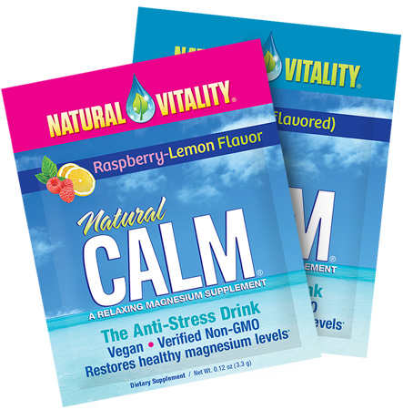 Request for a Free Sachet of Natural Vitality CALM Magnesium Supplement