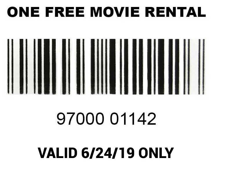 Free Movie Rental at Family Video