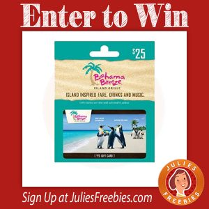 Bahama Breeze Reggae Fest Sweepstakes and Instant Win Game