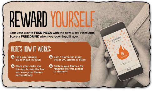 Get a Free Drink for Downloading Blaze Pizza App