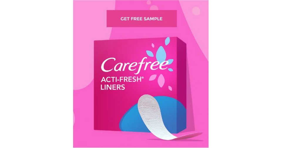 Answer a Few Questionnaires and Get a Free 10ct. Carefree Acti-Fresh Twist Resist Liners Sample