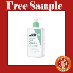 Free Sample of CeraVe Facial Cleanser at Walgreens