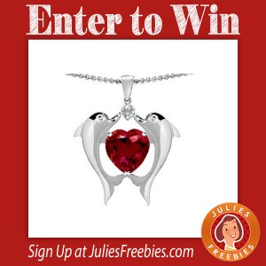 Win a Dolphins Ruby Pendant