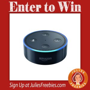 Win an Amazon Echo Dot