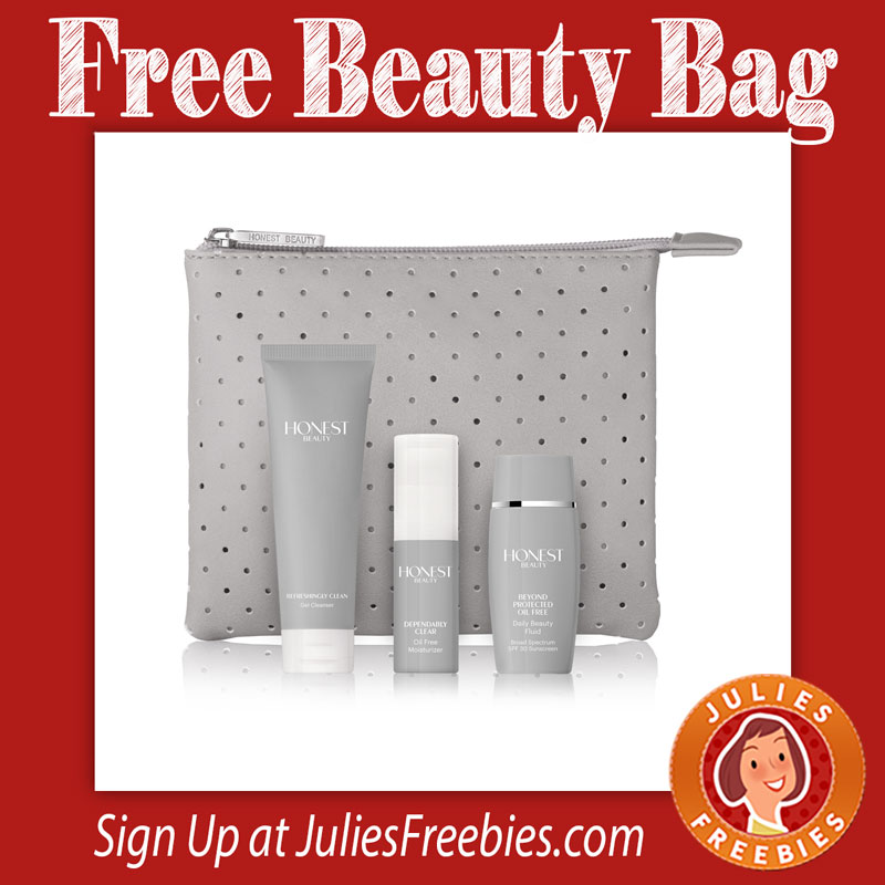 FREE Beauty Bag and 3 FREE Beauty Products