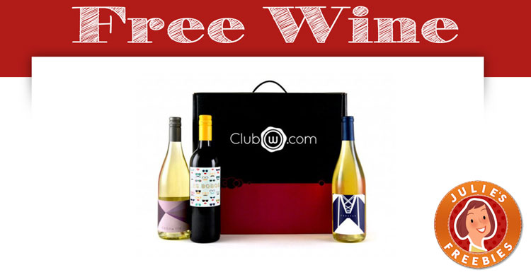 Free Wine – Sign up for 2 free bottles!