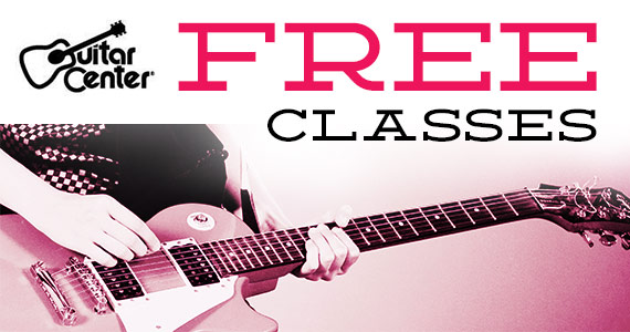 Free Music Mentor Classes At Guitar Center