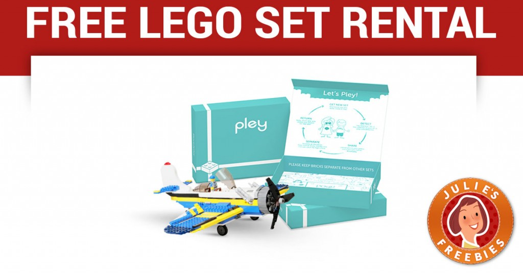 Free Lego Set Rental from Pley