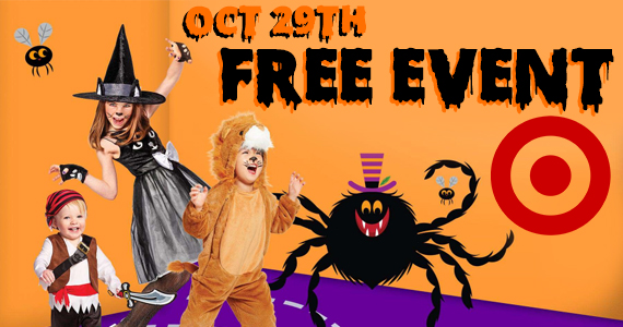 Free Halloween Event at Target on 10/29