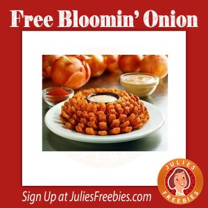 Free Bloomin' Onion at Outback on 8/2