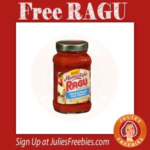 Possible Free Ragu Pasta Sauce – MOMS MEET