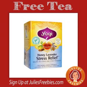 Free Sample of Yogi Teas