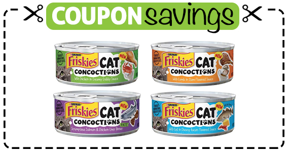 Buy 1 Friskies Cat Concoctions Get 1 Free