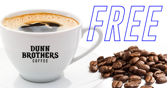 Get A Free Coffee When You Join Dunn Brothers Coffee