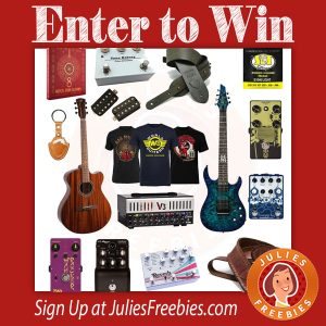Win a Prize Package from Guitar World