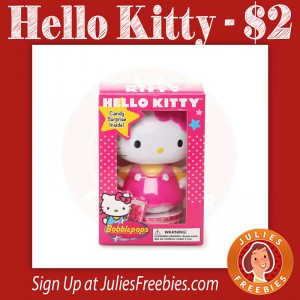 Hello Kitty Bobble Head – $2 (reg $12)