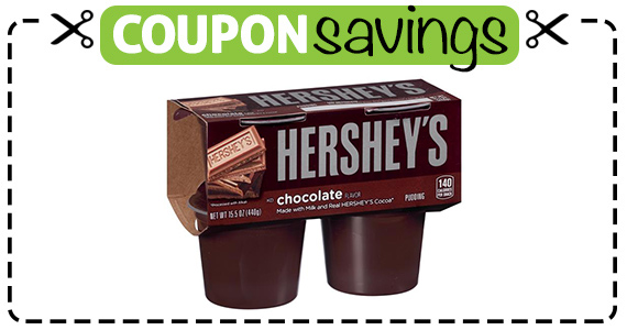 Save 75¢ off Hershey's Pudding Snacks
